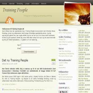 Training People -  faglig & personlig udvikling