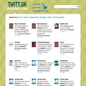 Twitt.dk - Danske Tweets
