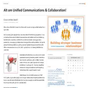 Alt om Unified Communications & Collaboration