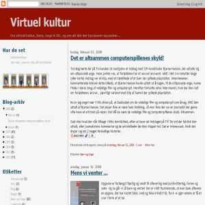 Virtuel Kultur