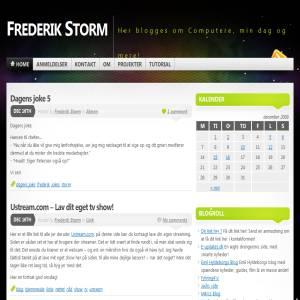 Frederik Storms Blog