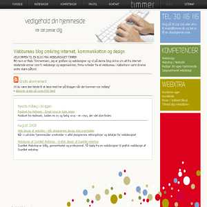 Webbureau timmer - Blog