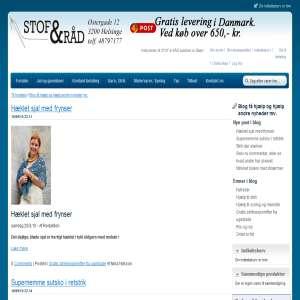 Stof og Råd hjælp og gratis strikkeopskrifter