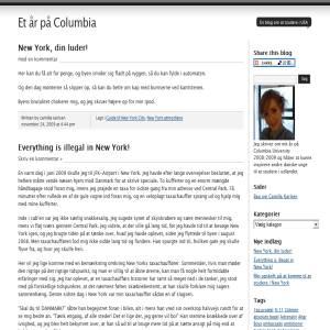 Et år på Columbia University