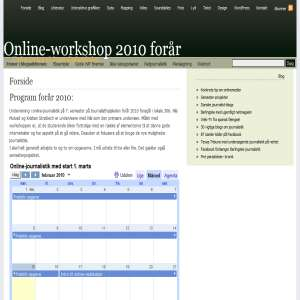 Online-workshop - Onlinemedier