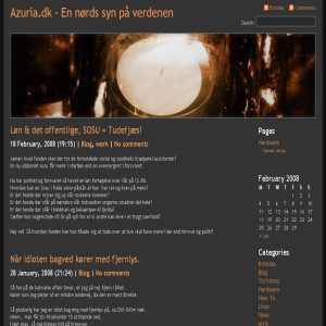 Azuria.dk - A Lunatics Playground