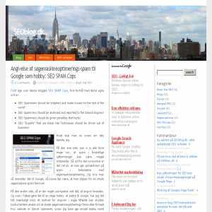 SEO-blog.dk - om søgemaskineoptimering