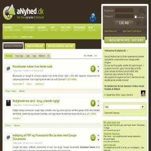 aNyhed.dk - Nyheds Community