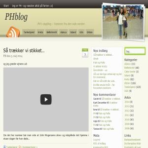 PHs rejsedagblog -historier fra den vide Verden