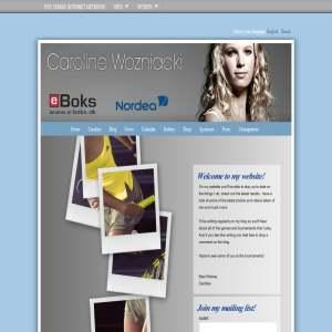 Caroline Wozniacki Blog