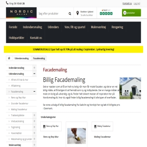 Facademaling fra Nordicmaling.dk
